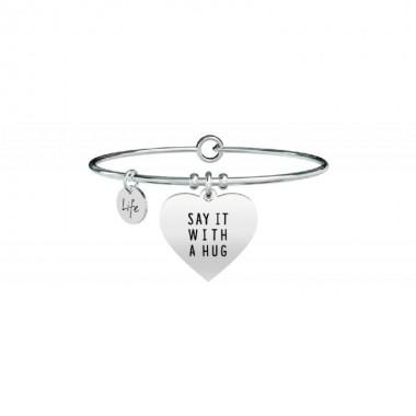 KIDULT BRACCIALE - CUORE | SAY IT WITH A HUG