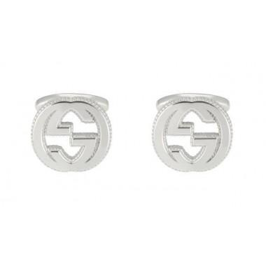 Gucci Gemelli in argento con dettaglio GG